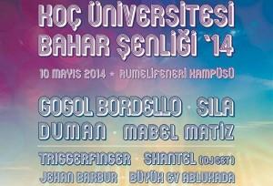 Koç Üniversitesi Bahar Şenliği 2014