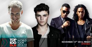 Top 100 DJs Dünya Turnesi