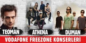 Vodafone FreeZone Konserleri